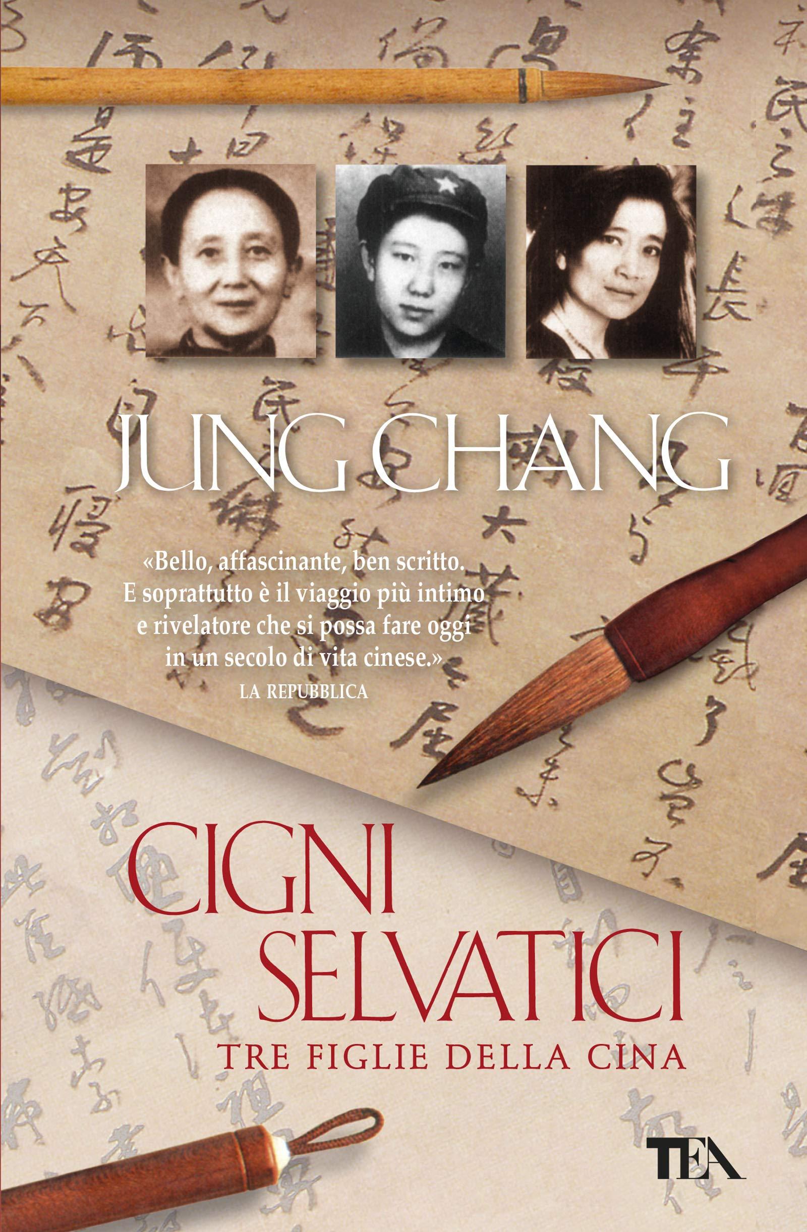 """Risultato immagini per Cigni selvatici di Jung Chang"""""""