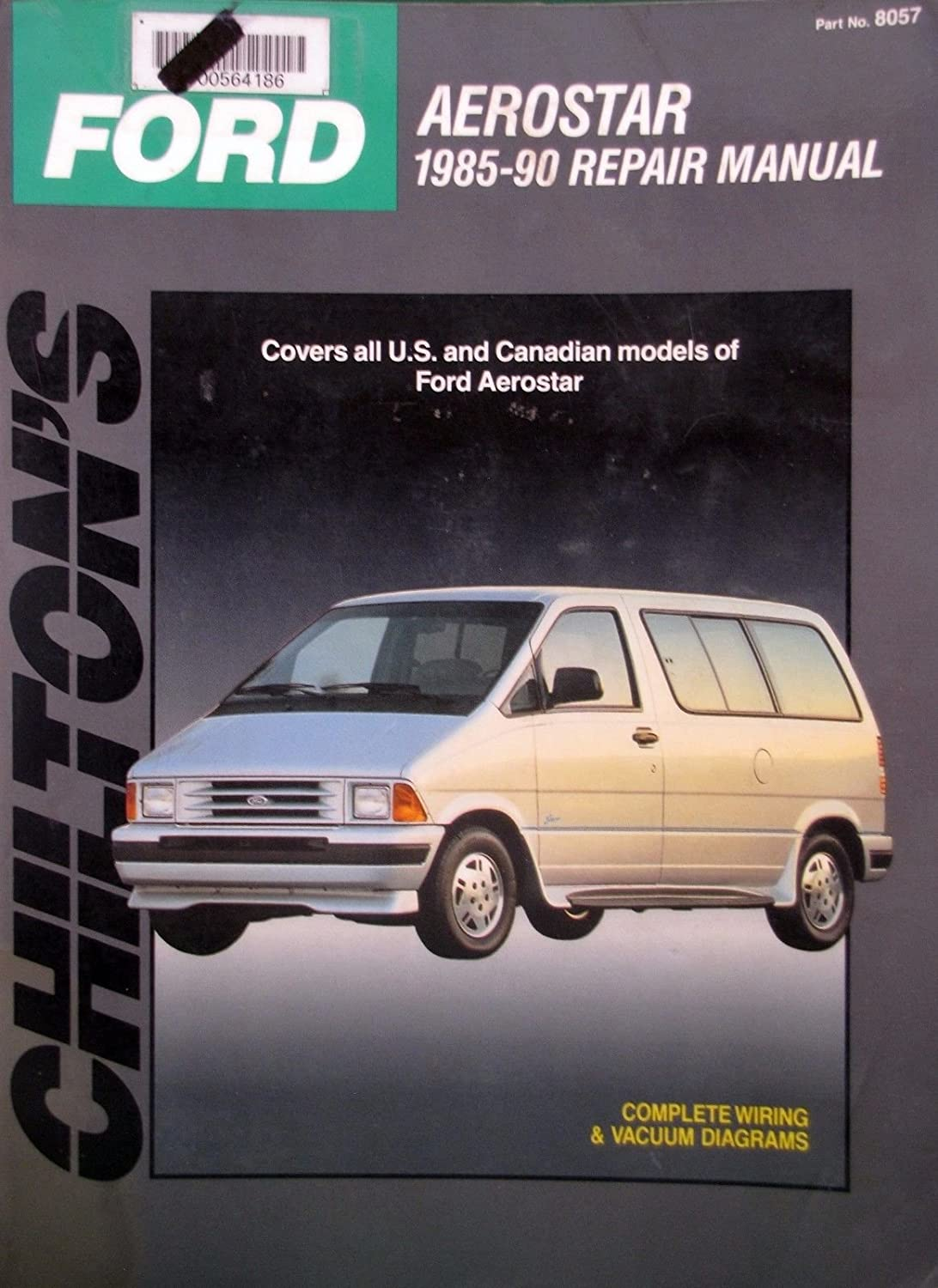 Amazon.com : 1985-90 Chilton Repair Manual - Ford Aerostar minivan - #8057  : Everything Else