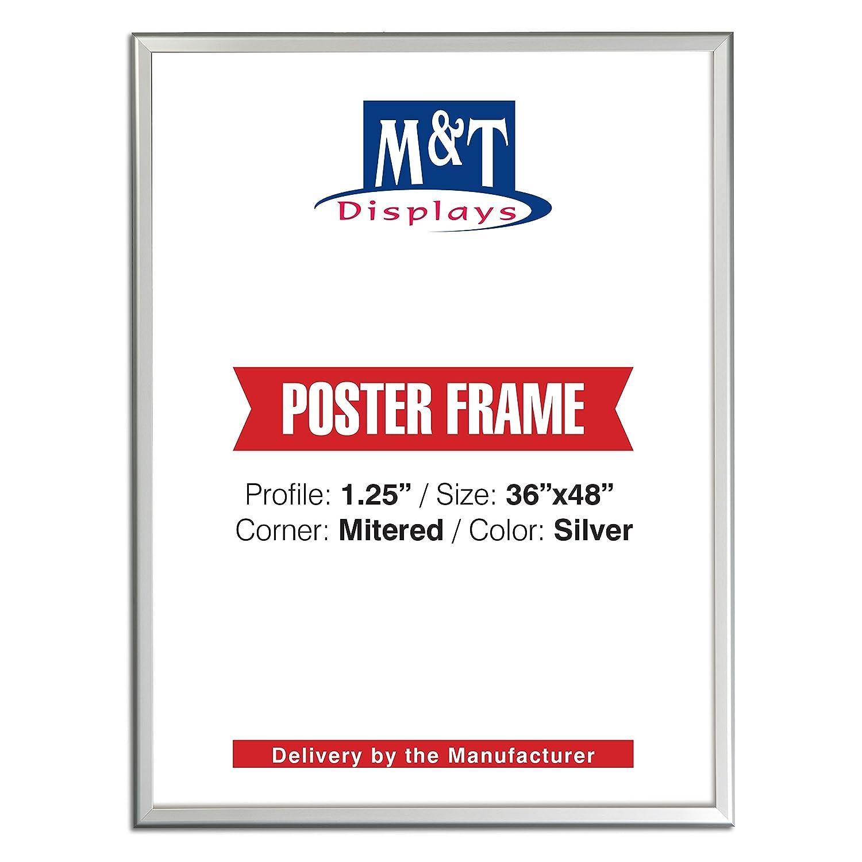 Amazoncom Displaysmarket Snap Frame 36x48 Poster Size 125