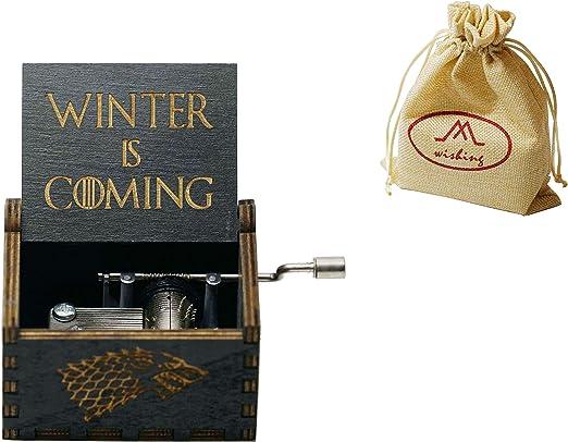wishing Caja Musical Juego de Tronos,Game of Thrones clásico Caja ...