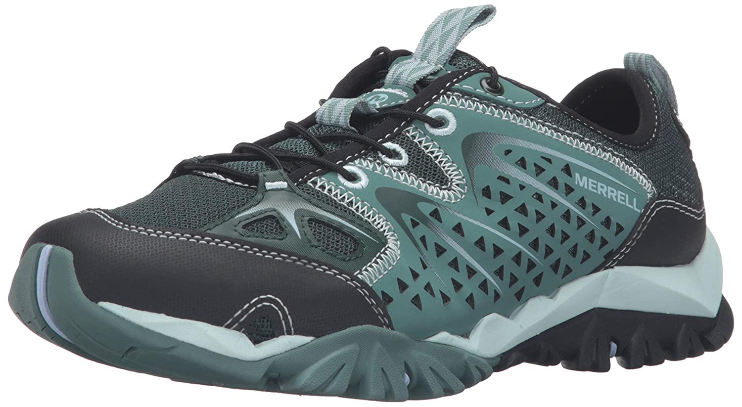 Merrell Women's Capra Rapid Water-Friendly Hiking Shoe B01HJ376C0 6 B(M) US|Sagebrush Green