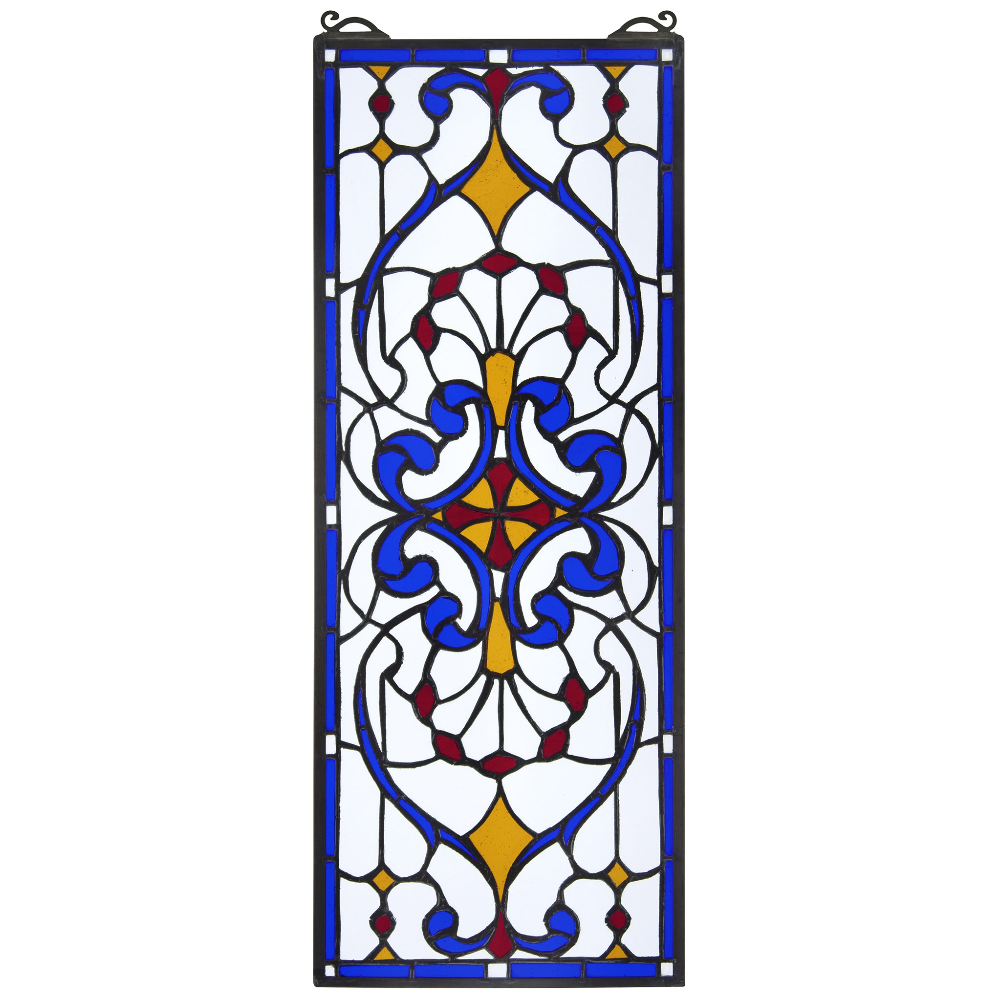 Stained Glass Panel - Hyde Street Stained Glass Window Hangings - Window Treatments