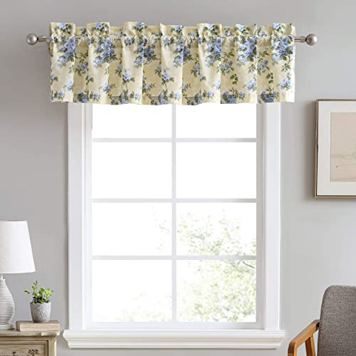 Laura Ashley Home Cassidy Collection Stylish Premium Hotel Quality Valance Curtain
