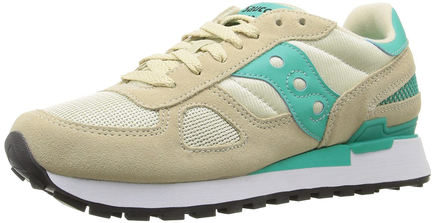 Saucony Originals Women's Shadow Original Fashion Sneaker B0189O7UN8 9.5 B(M) US|Sand/Capri