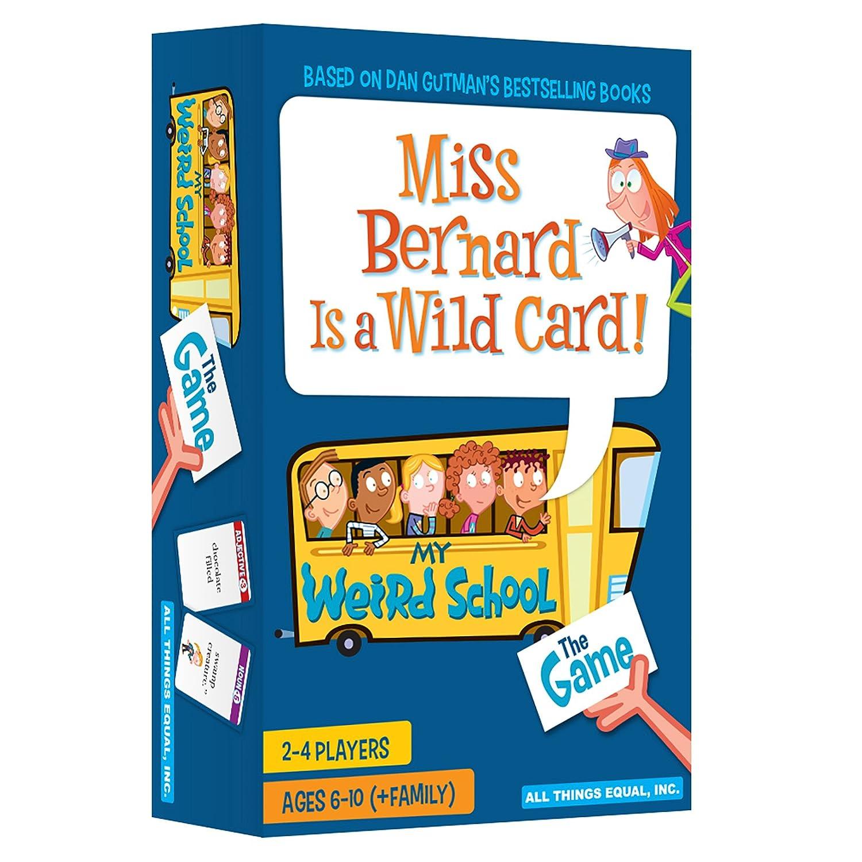 Miss Bernard is a Wild Card - The My Weird School Game