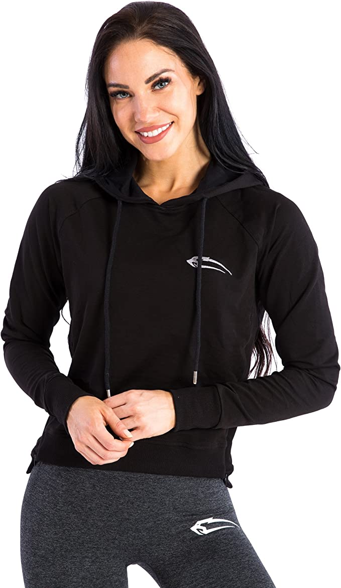 SMILODOX Hoodie Damen 'Variety'   Cropped Hoodie für Sport