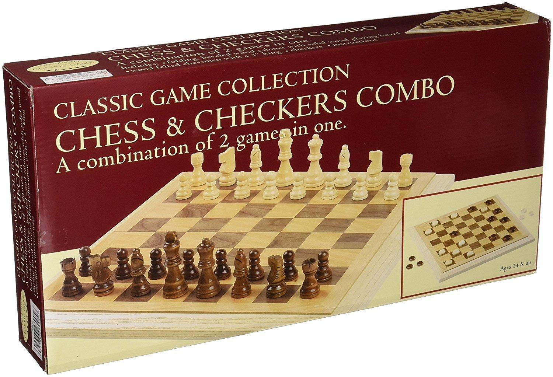 値段が激安 Deluxe Deluxe Staunton Set Wood [並行輸入品] Chess And Checkers Set [並行輸入品] B074DR6DM4, ニシキムラ:df9f6ea0 --- arianechie.dominiotemporario.com