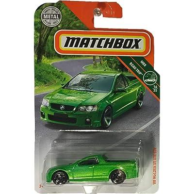 Matchbox 2020 MBX Road Trip '08 Holden VE UTE SSV 24/125, Neon Green: Toys & Games