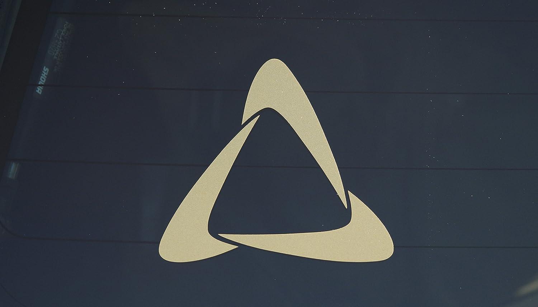 c2253e6f039 Set of (2) Kron Gracie Jiu-Jitsu Symbol Die-Cut vinyl Decal for Car Window