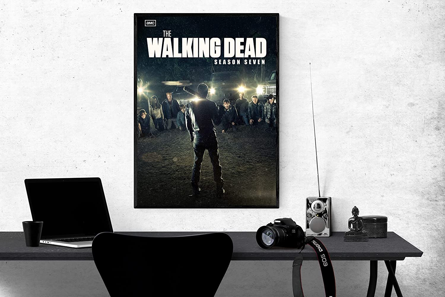 Poster Compatible With The Walking Dead Season 7, American Neo-Western Series for Walls, Unframed Posters Print, Cool Home Decor, Unique Design, Wall Art Decor for Room