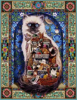 product image for Springbok's 500 Piece Jigsaw Puzzle Cats Galore