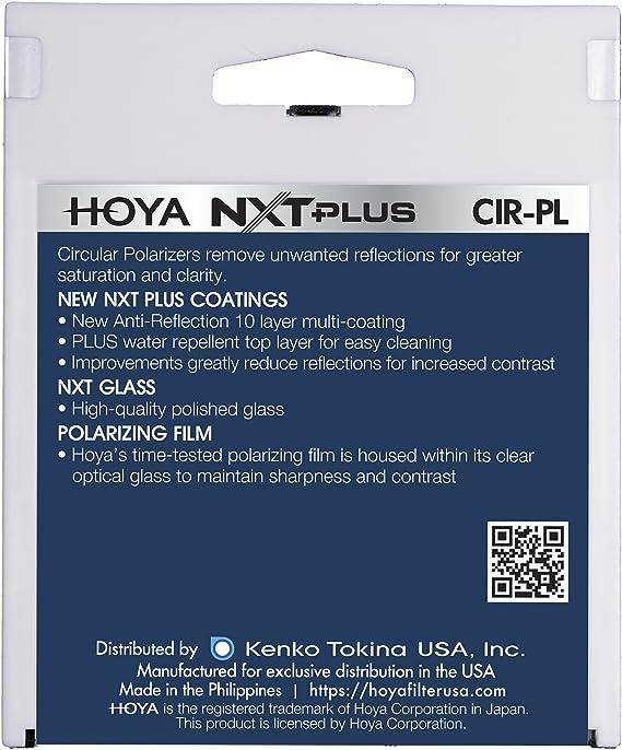 Hoya 52mm NXT Circular Polarizer Filter TheImagingWorld Microfiber Cloth