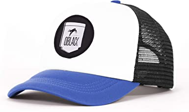 Oblack Gorra Trucker Blue Seattle Azul Beisbol Ajustable con ...