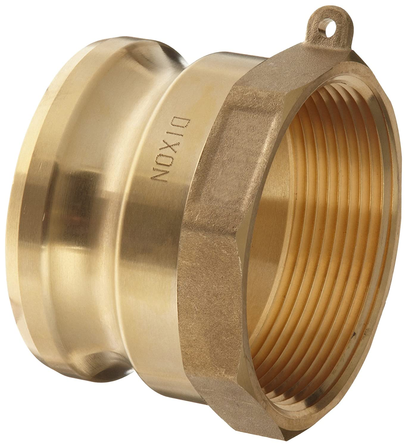 1 Plug x 1 NPT Female Dixon G100-A-BR ASTMC 38000 Forged Brass Global Type A Cam and Groove Hose Fitting