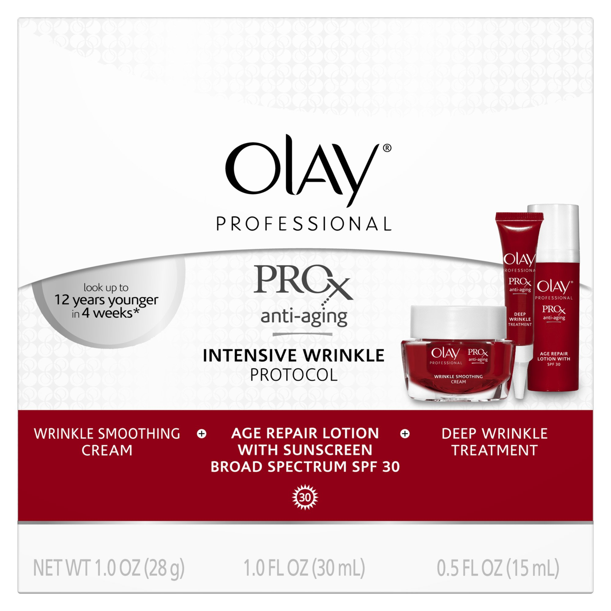 Olay Professional ProX Intensive Wrinkle Protocol 1 Kit  Packaging may Vary