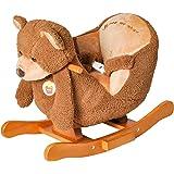 Knorrtoys 40319 - Schaukeltier Teddy mit Sound
