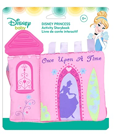 Amazoncom Disney Princess On The Go Activity Teether Storybook