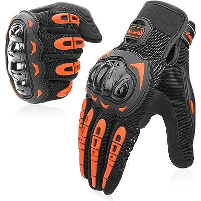 COFIT Guantes de Motos, Guantes de Pantalla Táctil Full Touch para Carreras de Motos, MTB, Escalada, Senderismo y Otros Deportes al Aire Libre - M/L/XL