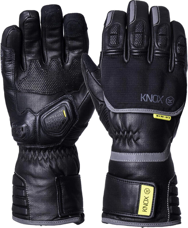 Knox Zero 3 MK II Winter Leather Motorcycle Gloves