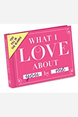 Knock Knock What I Love about You Fill in the Love Book Fill-in-the-Blank Gift Journal, 4.5 x 3.25-Inches Diary