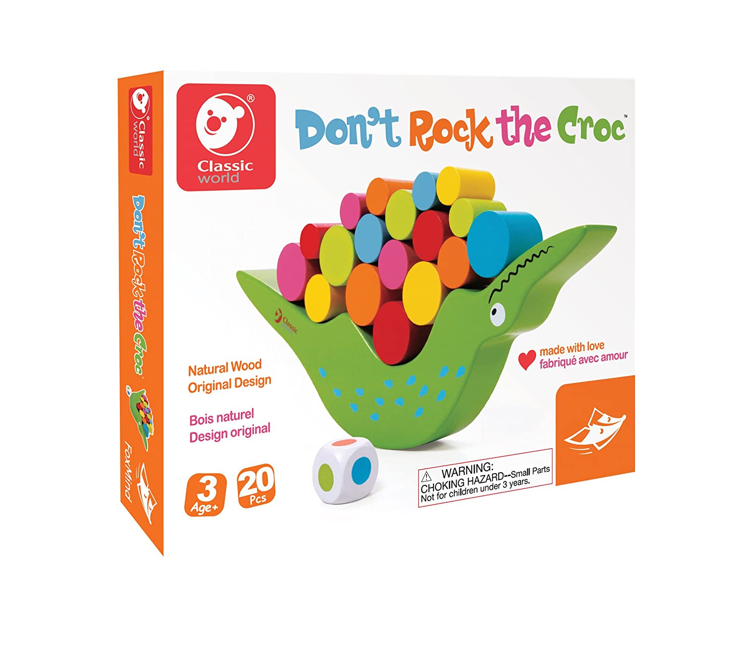 Don't Rock The Croc Game by Fox Mind Games