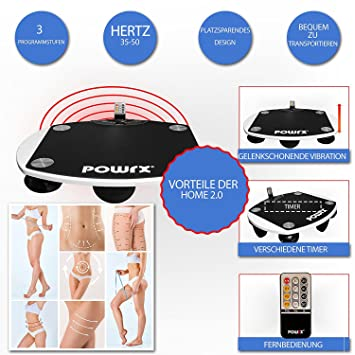 POWRX - Plataforma vibratoria Home 2.0 Fitness + Android App para un ...