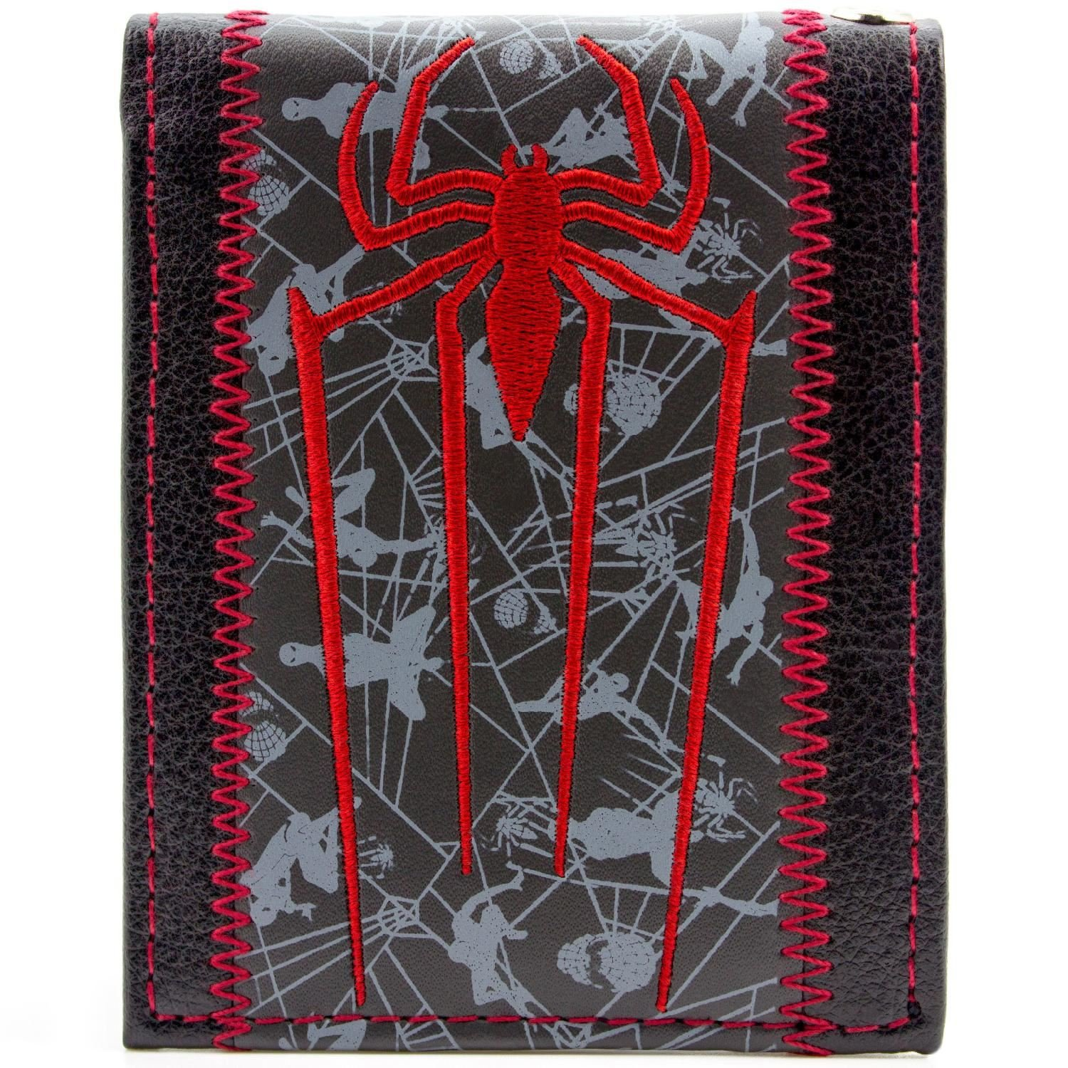 Cartera de Marvel Spider-Man Símbolo de la araña Multicolor 27410