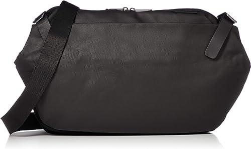 Cote Ciel Men's Riss Coated Canvas Messenger Bag