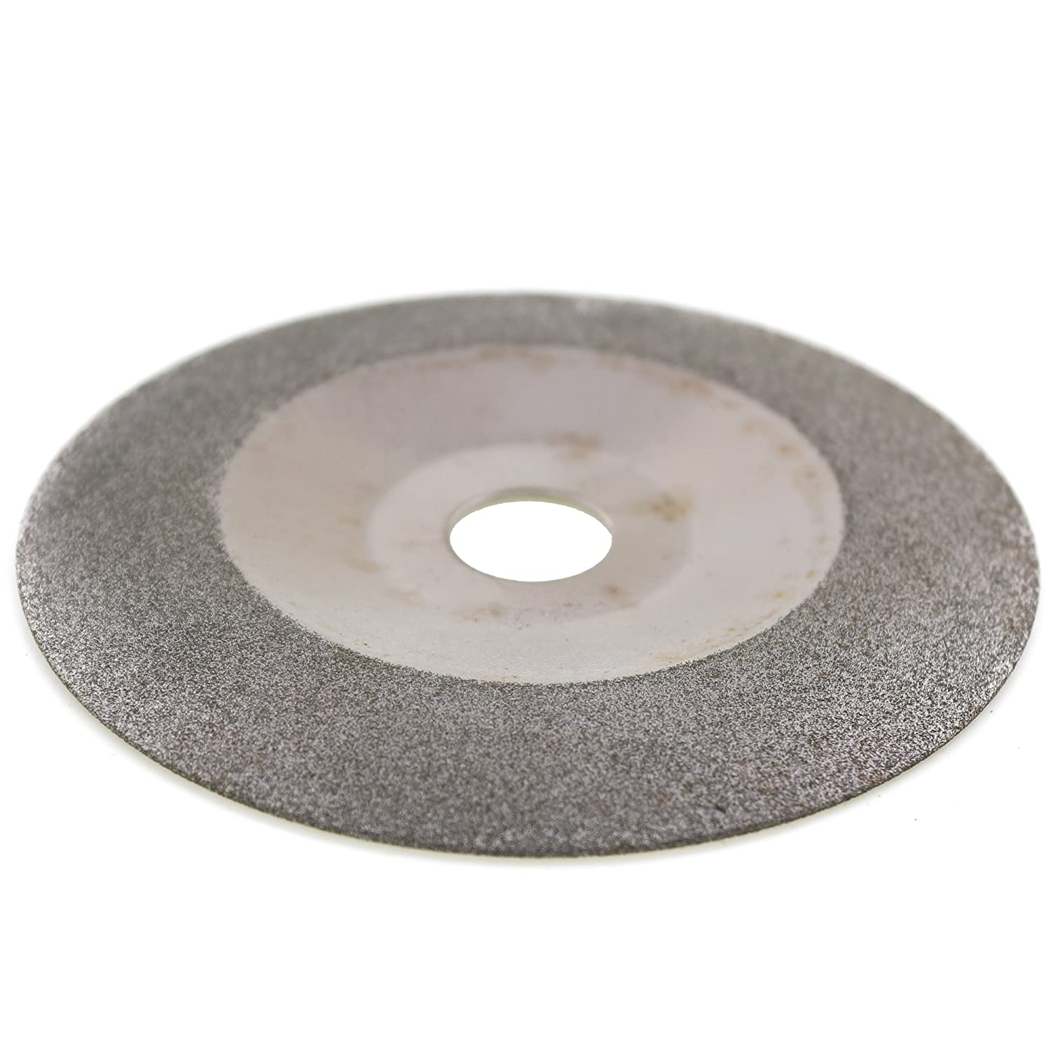 JOINER 100 mm 4 inch Diamond Coated Waveform Convex Grinding Disc Wheel Grit 150 Arbor Hole 16 mm 5//8 for Angle Grinder Glass Stone