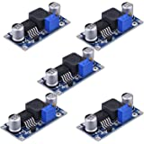 eBoot 5 Pack XL6009 DC to DC 3.0-30 V to 5-35 V Output Voltage Adjustable Step-up Boost Power Converter Module
