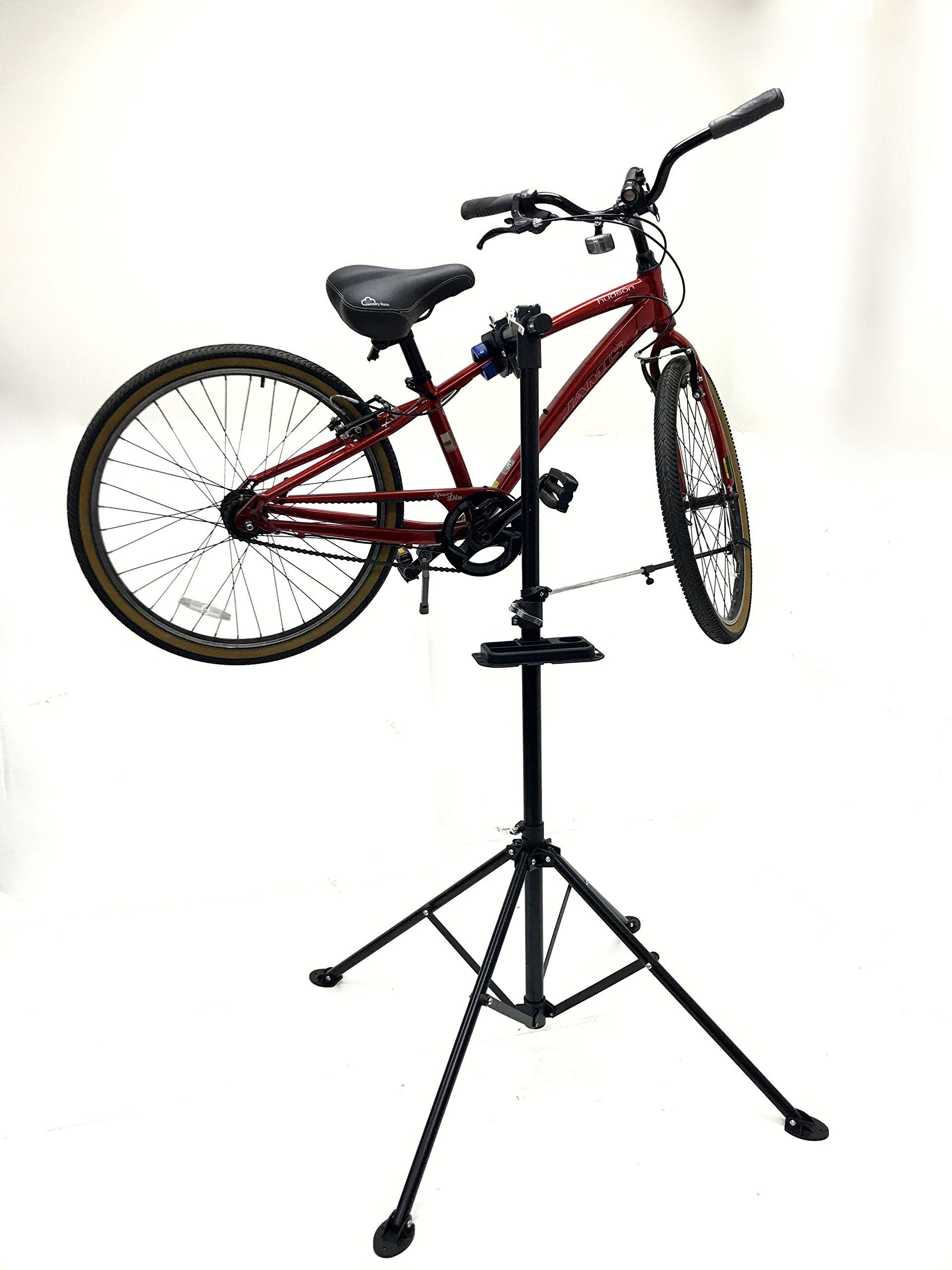 MaxxHaul 80725 Bike Repair Stand/Display with Adjustable Height & 360 Deg. Rotating Head Clamp by MaxxHaul (Image #5)