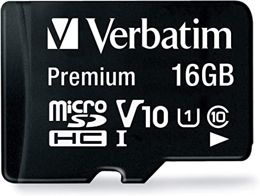 Verbatim 44082 16gb Class 10 Micro Sdhc With Adapter Black Amazon Co Uk Computers Accessories