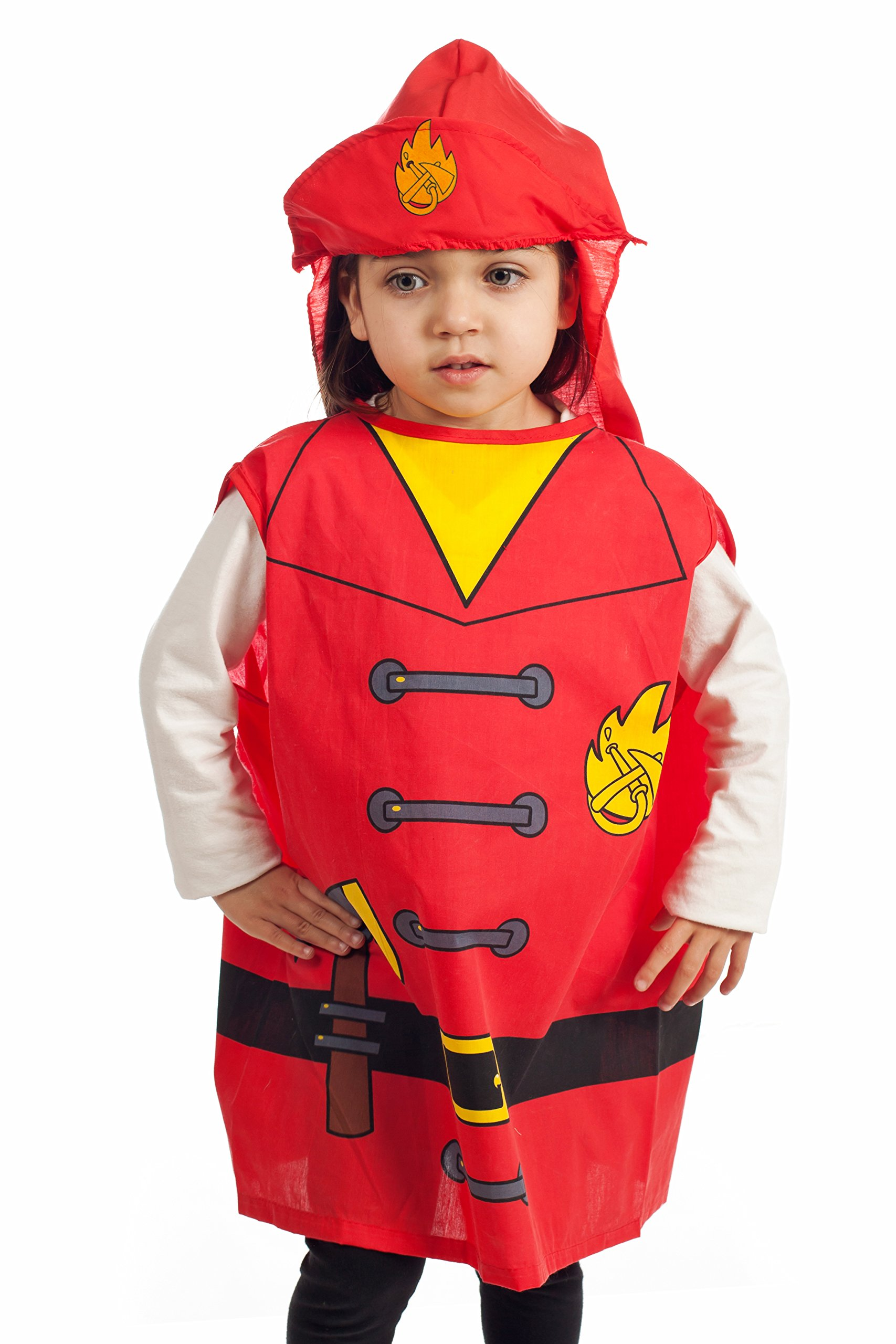 IQ Toys 6 Pieces Dress Up Costumes Fireman Gotham Cook Nurse Clown Witch by IQ Toys (Image #7)