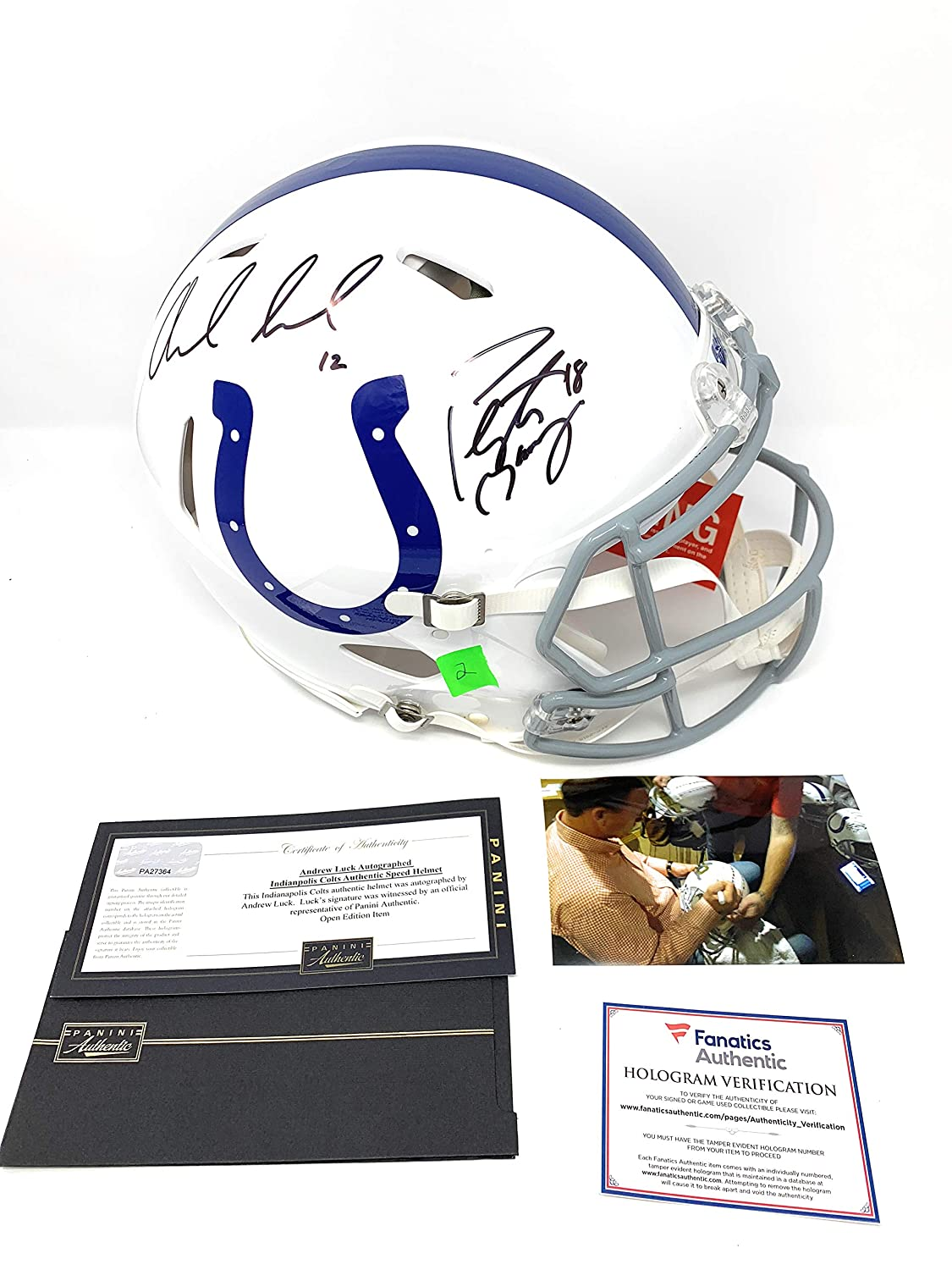 b6adcc32 Amazon.com: Peyton Manning Andrew Luck Indianapolis Colts Dual ...