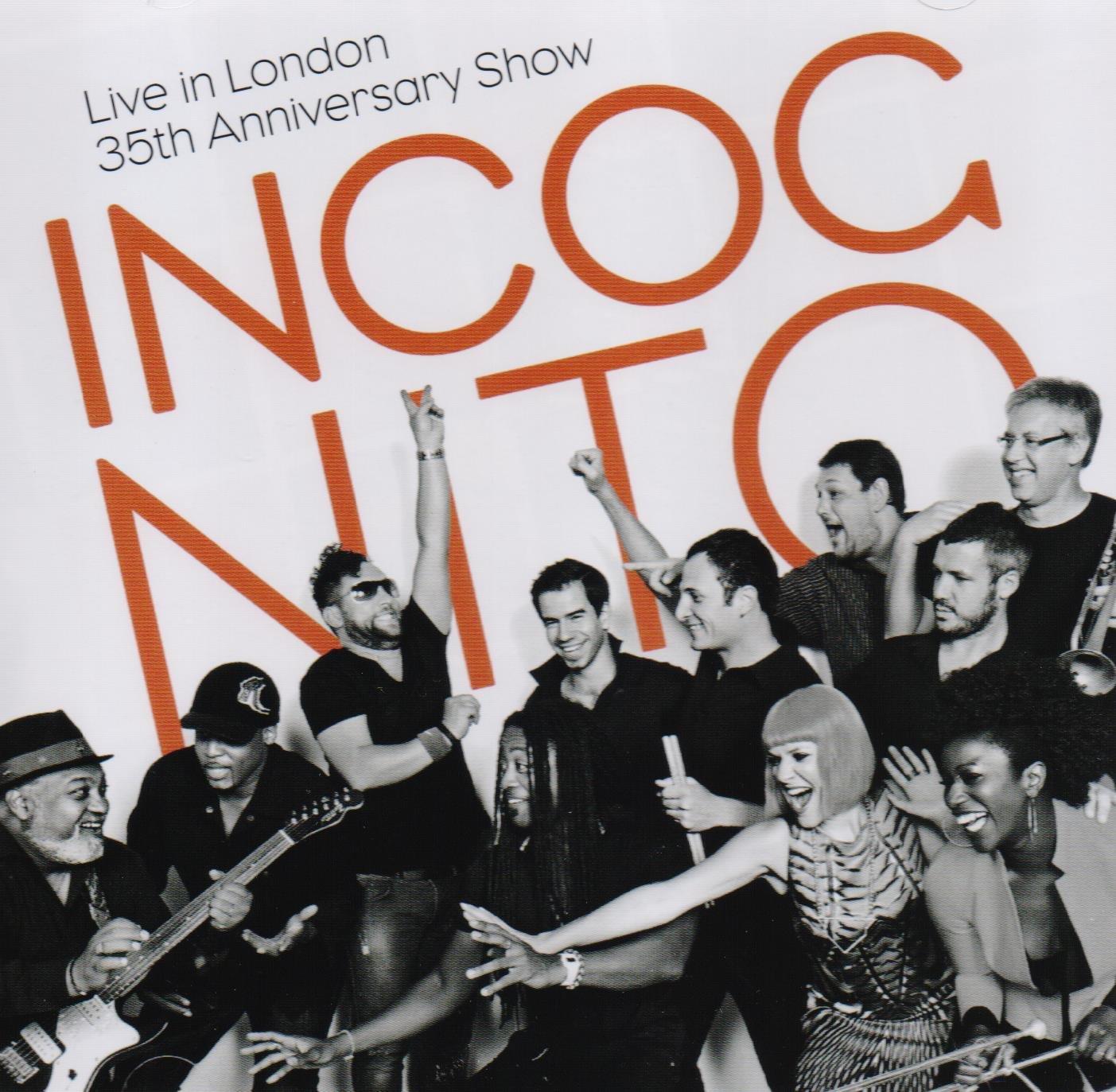 Live In London 35th Anniversary: Incognito: Amazon.es: CDs y vinilos}