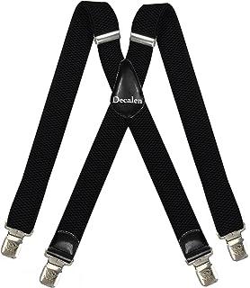 987c38929 Tirantes Hombre X-Forma Elásticos Ancho 40 mm con clips extra fuerte  totalmente adjustable todos
