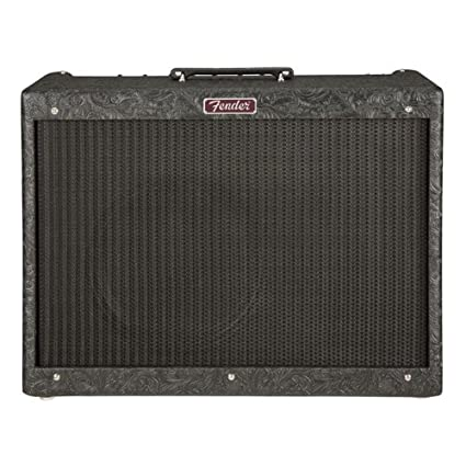 Amazon.com: Fender Blues Deluxe Reissue Black Western Limited Edition w/Celestion Heritage G12-65: Musical Instruments