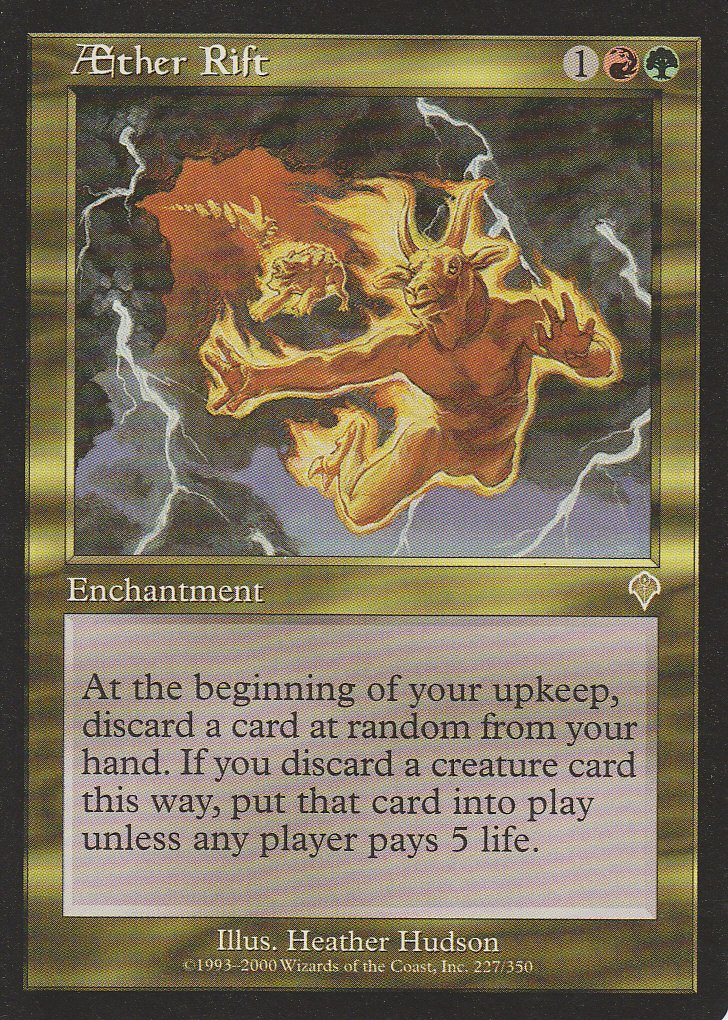 AEther Rift (Magic the Gathering : Invasion #227 Rare)