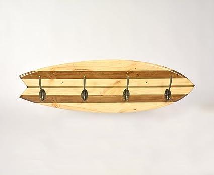 Perchero Tabla Surf Retro