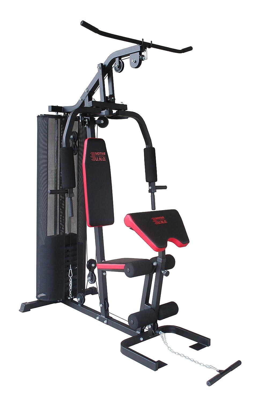 Motive Erwachsene SMART Multi-Gym, Schwarz-Rot, M