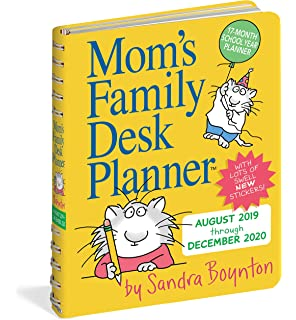 Moms Family Wall Calendar 2020: Sandra Boynton, Workman ...