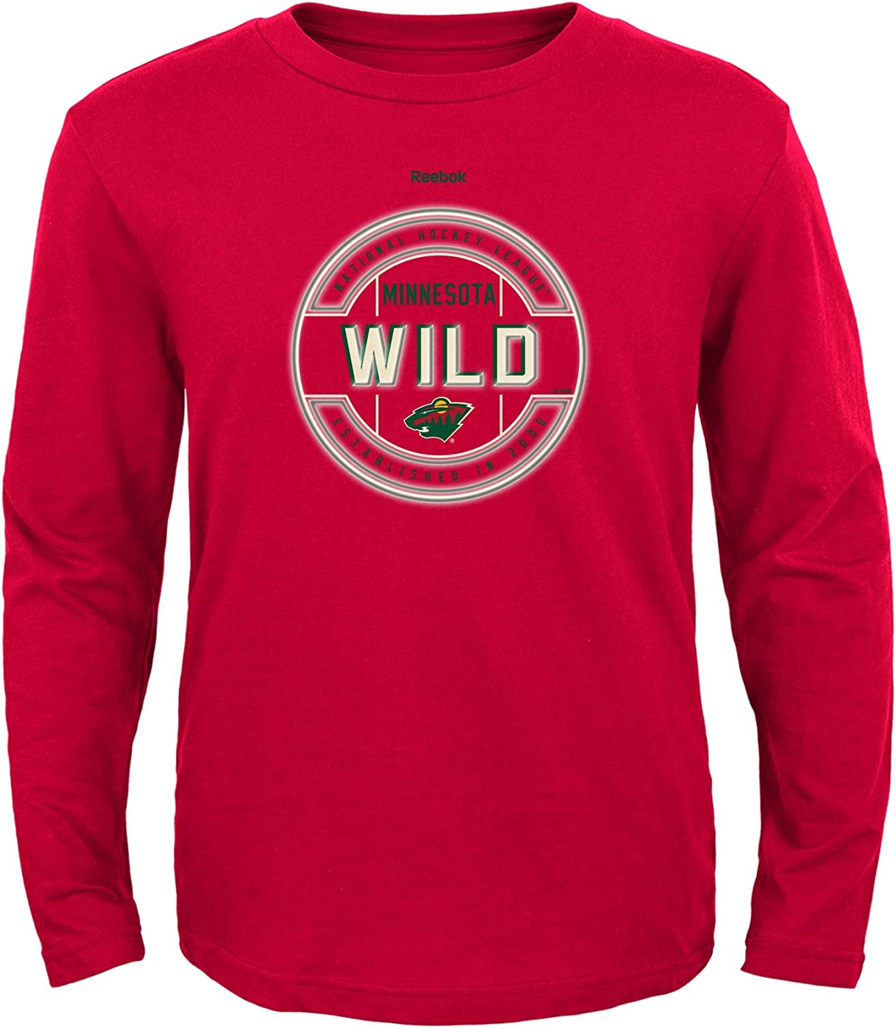 Outerstuff NHL Boys Attacking Zone Performace Long Sleeve Tee