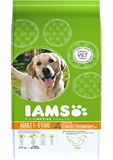 IAMS Proactive Health Adult Light In Fat For Sterilised/Overweight Dogs Chicken Comida para…