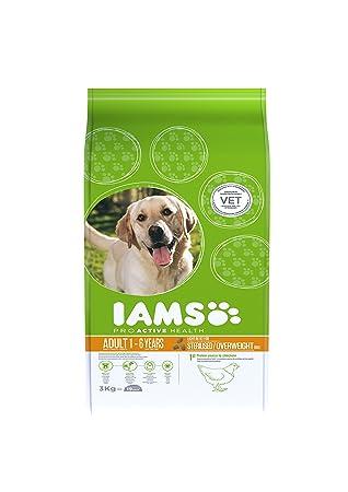 IAMS for Vitality Light in fat Alimento para Perros con Pollo Fresco [3 kg]