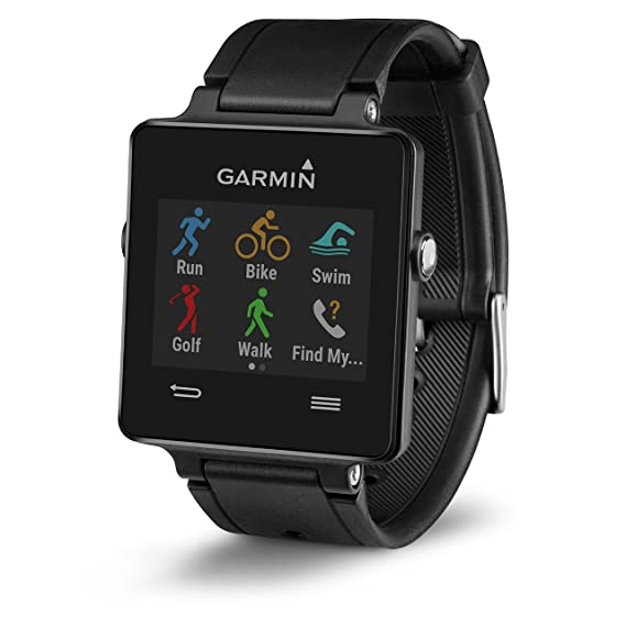 7722b2de3120 Amazon.com  Garmin vívoactive Black  Cell Phones   Accessories