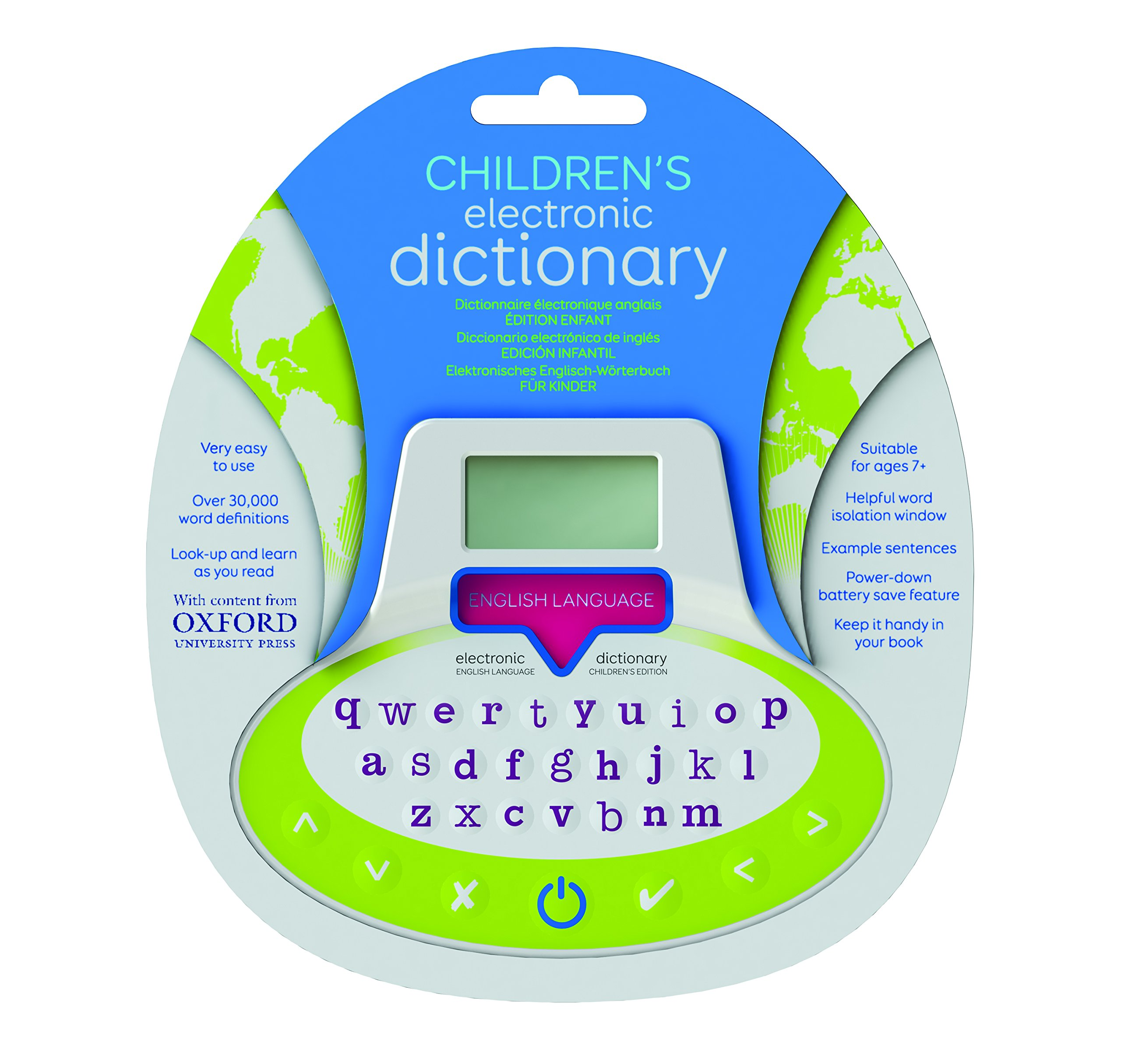 IF-Children's Electronic Dictionary Bookmark by IF