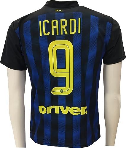 Camiseta Jersey Futbol Inter Mauro Icardi 9 Replica Autorizado (4 años)