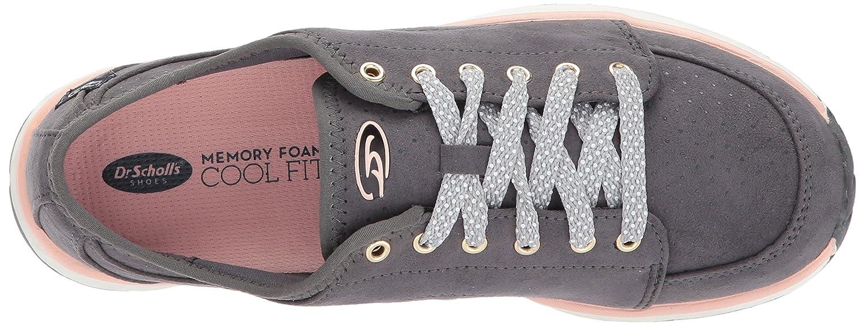 Dr. Scholl's 8 Women's Anna Fashion Sneaker B0724Z1YVN 8 Scholl's B(M) US Grey Microfiber 98fac6