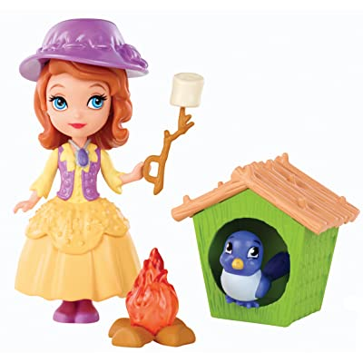 Disney Sofia the First Buttercup Troop Sofia Doll Playset: Toys & Games