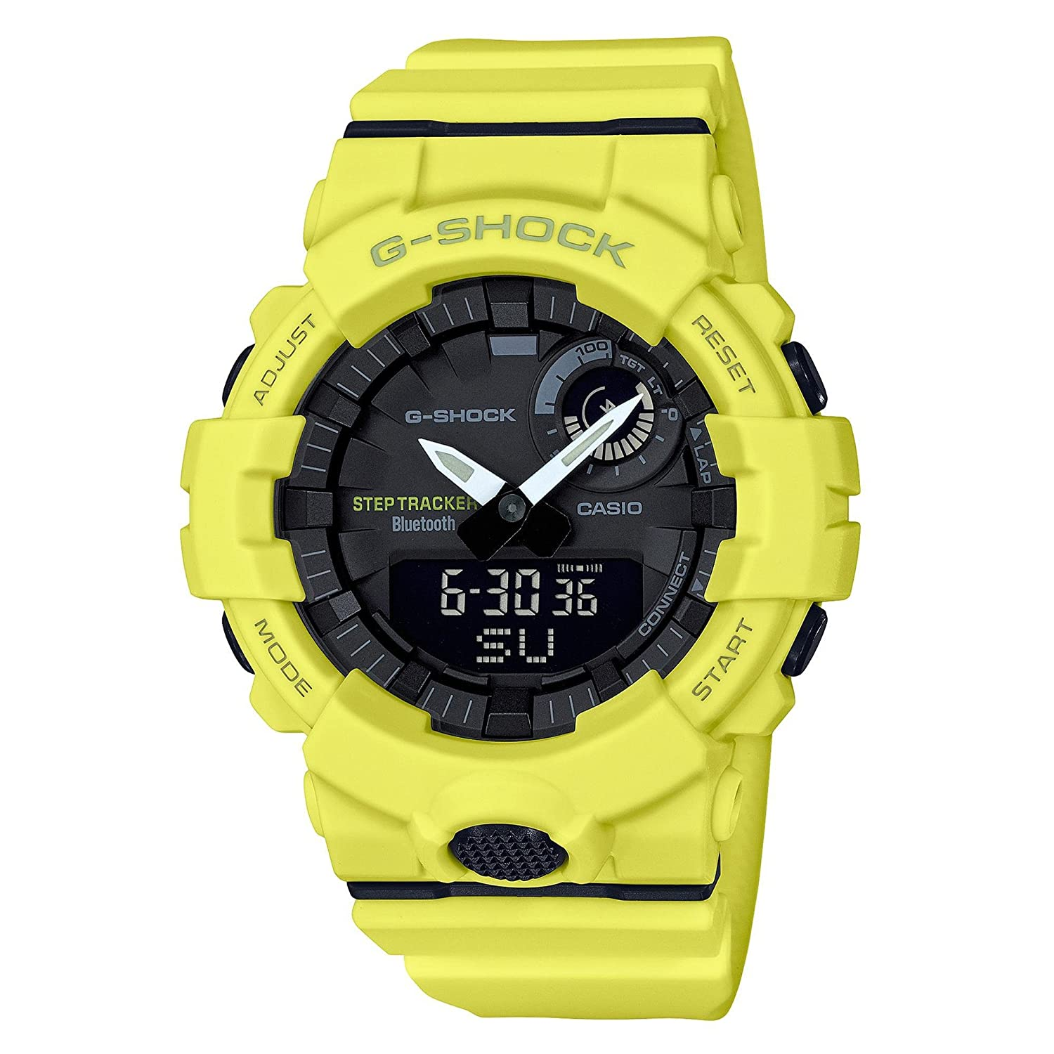 c885c129c65e Amazon.com  G-Shock Men s GBA800-9A Yellow One Size  Watches